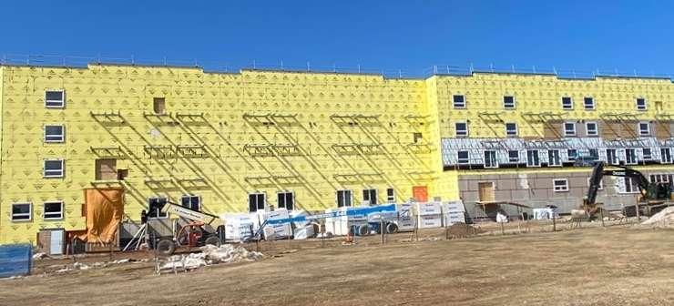 Réouverture du chantier de construction de la résidence